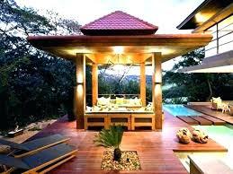 gazebo lights lighting ideas solar outdoor