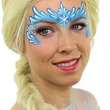 frozen elsa face painting by ashlea henson