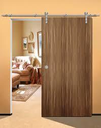Stable wooden interior door