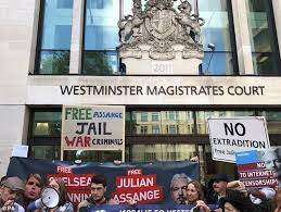 Image result for assange dying in prison