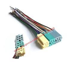 5 pcs universal iso radio wire harness 20 pin connector adapter plug 5 pcs universal iso radio wire harness 20 pin connector adapter plug kit automobile car cd