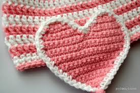 Crochet Heart Pattern Free Fascinating Free Pattern Crochet Valentine Heart Earflap Hat Classy Crochet