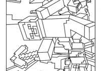 Free Minecraft Coloring Pages For Kids With Minecraft Coloring Pages