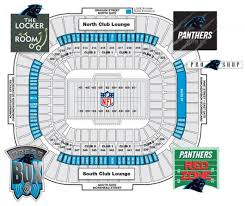 panthers seat map  panthers stadium seating map (north carolina
