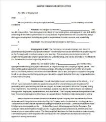 9+ Offer Letter Samples - Free Sample, Example, Format | Free ...