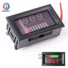 12 В свинцово-кислотный индикатор <b>уровня заряда</b> батареи ...