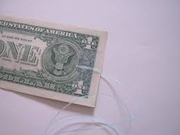 Vending Machine Tape Dollar Awesome Dollar Bill On A String 48 Steps