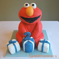 13 Elmo Cakes For Boys Photo Elmo Birthday Cakes For Boys