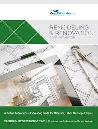 Remodeling Renovation Cost Estimator Hometech Systems