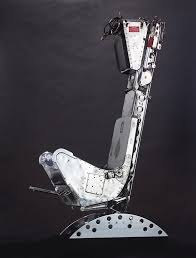 marting baker ejection seat office chair left view
