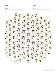 Printable Practice Charts 100 Beamed Note Pairs To Track Musical Goals Or Use As A