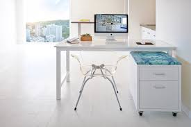 small desk with file drawer home office contemporary with cabinets chic city view