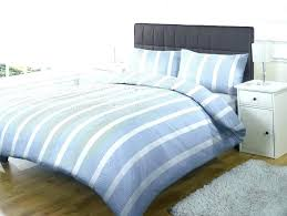 blue striped duvet cover and white set light ticking stripe canada rugby striped duvet cover