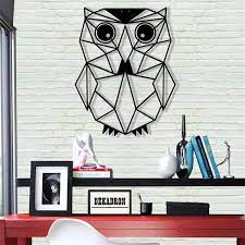 owl metal wall decor animals metal