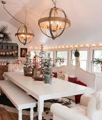 round wood chandelier lights