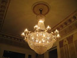 image of egyptian antique art deco chandelier