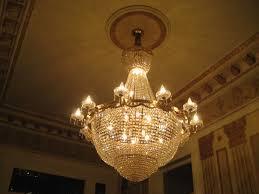 egyptian antique art deco chandelier
