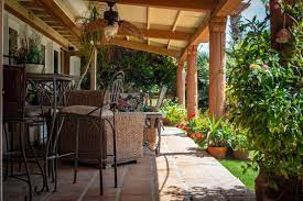 Is It Okay To Grill Under A Covered Porch Captain Patio