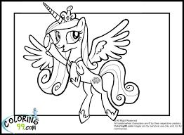 Princess Cadence Coloring Pages Basement Pinterest Princess