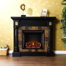 full image for slater black electric fireplace mantel package dcf44b dimplex laa wall corner