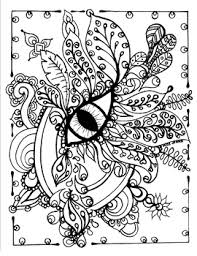You can also print the coloring sheets that you like to draw and color them on paper. Eye Love Art Spring Summer Fall Winter Relaxing Coloring Page