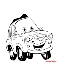 Small Picture Cars Coloring Pages Disney Pixar RedCabWorcester RedCabWorcester