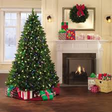 Christmas Decorations Sears Holiday Showtime 7 Christmas Tree Northern Lights Spruce Sears