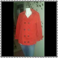Perfect Red Spring Coat Great Condition Size Chart In