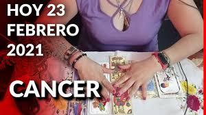 CANCER* de Hoy 23 de FEBRERO 2021 - HOROSCOPO DIARIO 🔥/ ASTROLOGIA ✴/  ZODIACO ♋ / ESTRELLA 🌟 - YouTube