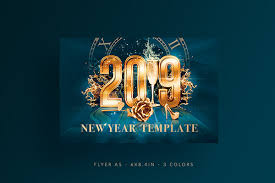 New Year Flyers Template New Year Flyer Template Psd On Wacom Gallery