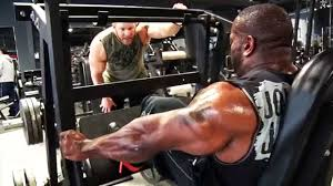 johnnie jackson and gabe moen kill legs at global fitness in los angeles beast motivation