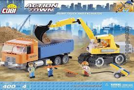 <b>Конструктор Dump Truck</b> and Excavator — купить в интернет ...