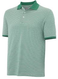 Ashworth Golf Size Chart Ashworth Stripe Polo Golf Shirt Green Medium