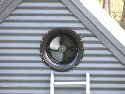 Attic Vent Fan Home Ventilation Attic Fan Roof Vent Cover ...