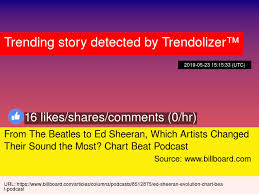 From The Beatles To Ed Sheeran Which Artists Changed Their