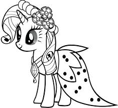 Kids Coloring Pages To Print My Little Pony Coloring Pictures My