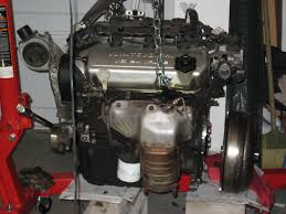 how to v6 6g74 swap remove the starter unbolt the transmission bolts and remember where each one goes because they are different lengths pull the transmission away from the