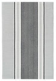 dash albert ner stripe woven cotton rug