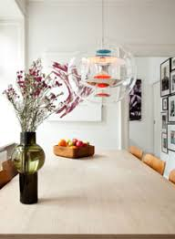 clear glass pendant living room contemporary decorating. Verner Panton VP Globe Small Clear Modern Ball Lamp Clear Glass Pendant Living Room Contemporary Decorating O