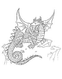Awesome Dragon Coloring Pages Cool Dragon Coloring Pages Printable