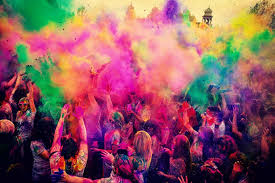 essay on the holi festival for school students