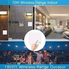 smart wifi wireless light switch wall