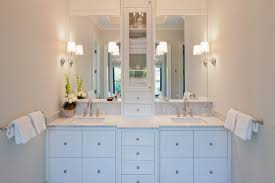 bathroom mirror ideas double vanity. amazing bathrooms ideas for comfort of your bath: with white double vanity and bathroom mirror
