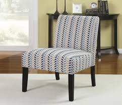 Blue Pattern Accent Chair Gorgeous Blue Fabric Accent Chair StealASofa Furniture Outlet Los Angeles CA