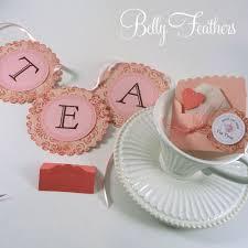 Sneak Peek High Tea Party Ideas Belly Feathers