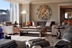 Modern Living Room Wall Decorating Ideas