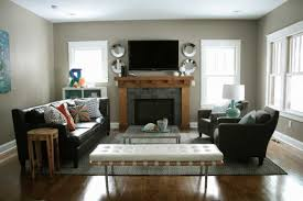 How To Arrange Living Room Furniture With Fireplace And TV Amazing