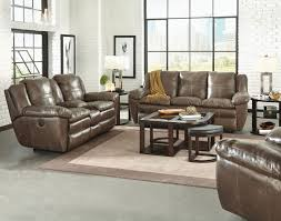catnapper aria top grain italian leather lay flat power reclining sofa set smoke