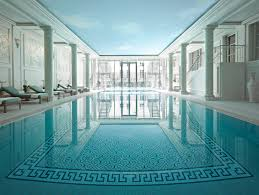 of the best pools in paris piscine lespace bien etre shangri la hotel paris