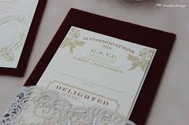 gold red velvet and lace wedding invitation zenadia design Red Velvet Wedding Invitations this invitation is a perfect example of how you can combine unique elements to an elegant and very classic invitation it keeps the vibe fun while still Wedding Invitation Templates